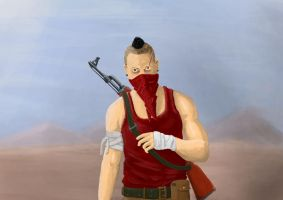 Vaas brother with shity background by dhartx