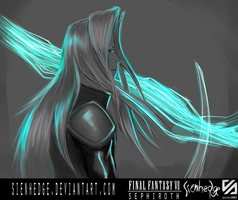 FF VII Sephiroth by shallete