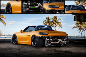 Porsche Boxster S by justfear