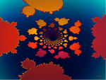 Mandelbrot Tile Tunnel by 1389AD