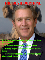 The Bush Doctrine (Simplified) by Atamolos