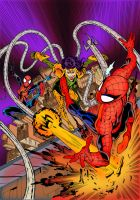 Spectacular Spider-Man UK #216 Cover Colouring by Cotterill23