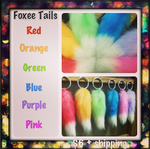 Small Foxee Keychain Tails (4in) by FoxeeTreasures