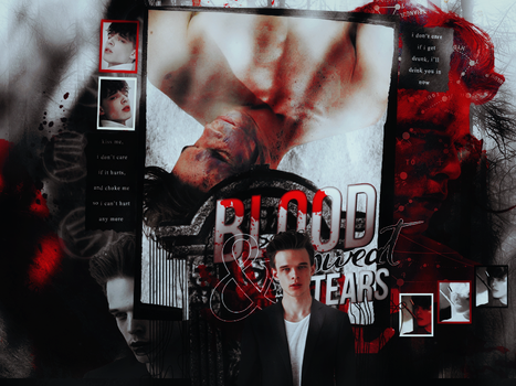 Blood, Sweat, and Tears blend by bottle-of-dreams