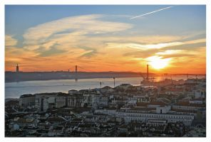 Lisbon Sunset by Garelito-Photos