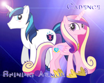 Shining Armor and Cadence Animated Glimmer by Kylar-ban-Durzo