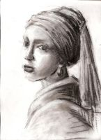 Girl with a Pearl Earring by EDBunny