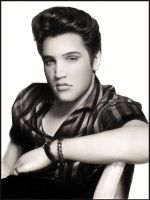 Elvis Presley by Cataclysm-X