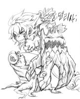 LOL Feminized - Maokai by Kim-mundo