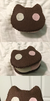 Cookie Cat Full Sized by badangel2012