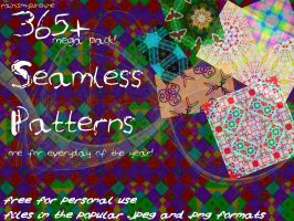 Mega Pack Seamless Patterns by rainismysunshine
