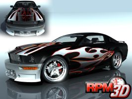 Mustang Contest 'OldSchool4' by nascar3d