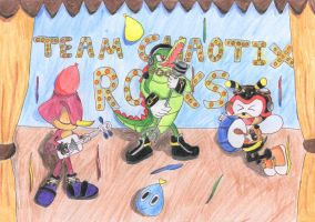Team Chaotix contest entry by TailsXCream3