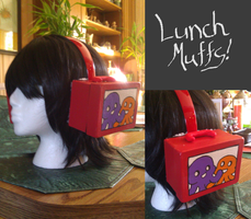 Lunchmuffs by LaPopeArmadillo