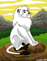 Kimba, The Lonely King by sailorharmony2000