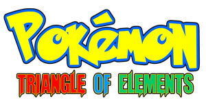 Pokemon Triangle Of Elements Logo by KingAsylus91