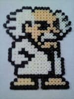 Dr Wily Bead Sprite by Rab1dRh1no