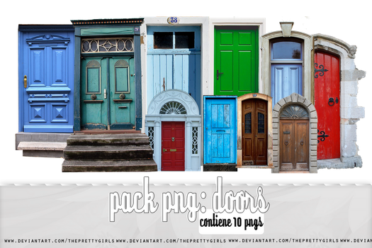 //+Doors PNG pack by ThePrettyGirls