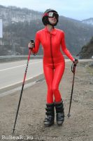 Latex Skier by latex-rat