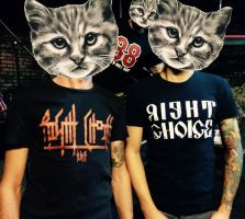 Right Choice Band T-Shirts by ipaintagain
