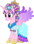 Princess Cadence with Ceremonial Headdress by Vector-Brony