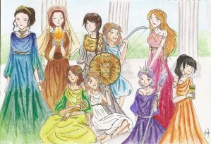 Ladies of Greek Mythology