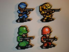 Advance Wars Soldiers by 8-BitBeadsStudio