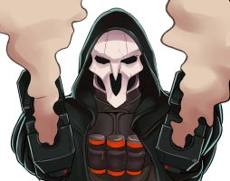 Reaper - Overwatch by shinomori7