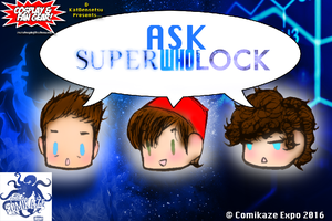CASTING CALL Ask SuperWhoLock Panel Los Angeles CC by Cosplayfangear