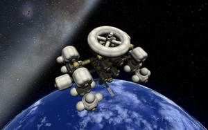 KSP Station Concept 3 Top View by Shroomworks