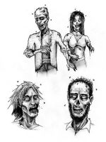 Zombies Again ! by Hamdoggz