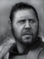 Russell Crowe by xjordi360