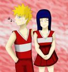 Naruto - NaruHina matching clothes - Contest entry by ThaitoDoitsu