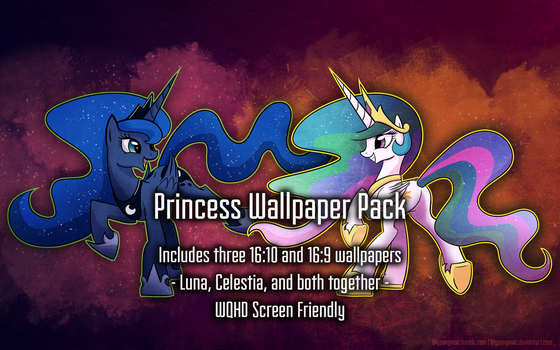 Bigponymac's Princess Wallpaper Pack by bigponymac