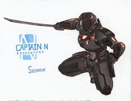 Captain N RE. - Sicarius by WMDiscovery93