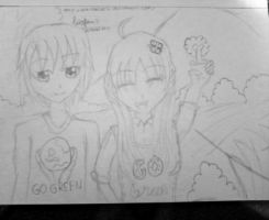 GO GREEN! :D by UchihaBlue11