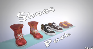 Shoes pack (2) by AlexGorgan