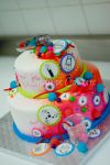 Science themed cake for a girl by buttercreamfantasies