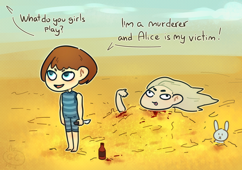 Fran Bow_Funny games by goldencookie-nl