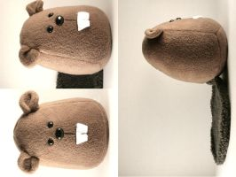 Custom Beaver Plushie by Saint-Angel
