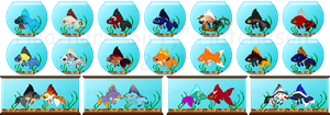 Icon Pet: Goldfish -  Batch 1 by Sirfy
