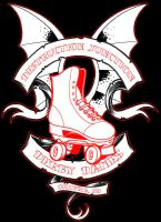 Derby Dames Logo by scumbugg