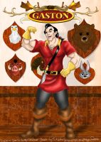 Disney Hunks 1 - Gaston by hollano
