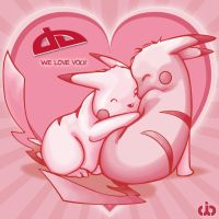 PIKA LOVE by cybaBABE