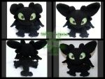 Toothless Amigurmi Alternates by LilDezzi