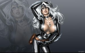 Black Cat Wallpaper by HikenNoAce