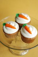 Carrot Cupcakes by bakingbee