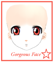 MMD- Gorgeous Face -DL by MMDFakewings18