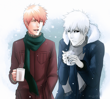 Hot Cocoa Winter Time | BLEACH by DivineImmortality