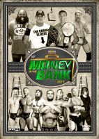 WWE Money in the Bank 2013 Poster by Chirantha